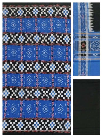 Sambalpuri ikat cotton Dress material set