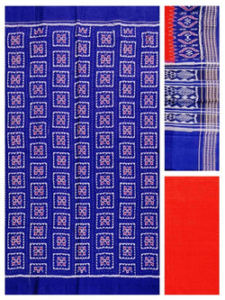 Sambalpuri cotton dress material set