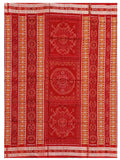 Sambalpuri Cotton Saree with Bomkai Fusion (Blouse Piece )