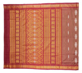 Exclusive Handloom Bomkai Cotton Saree with Blouse Piece-Bomkai Cotton Saree-OdiKala-OdiKala