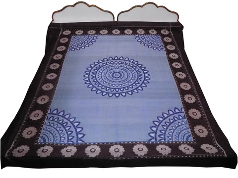 Exclusive Handloom Pure Cotton Double Bedsheet-Bedsheets-OdiKala Accessories-OdiKala