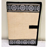 Unique Documents and Files Holder-Appliques-OdiKala Handicrafts-Konark Wheel-14 cm length and 10 cm width-OdiKala