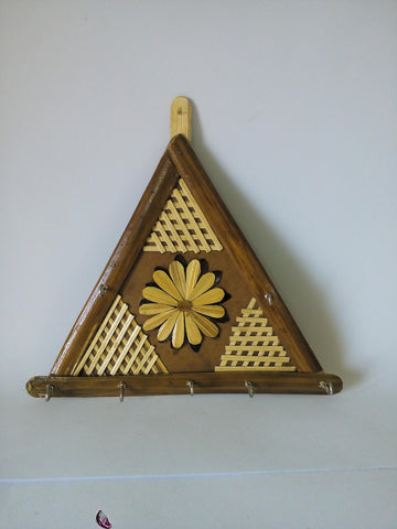 Key Hanger made from Bamboo-Bamboo Crafts-OdiKala Handicrafts-OdiKala