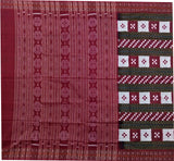 Sambalpuri Cotton Saree With Blouse Piece-Sambalpuri Cotton Saree-OdiKala-OdiKala