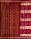 Sambalpuri Ikat Cotton Saree-Sambalpuri Cotton Saree-OdiKala-OdiKala