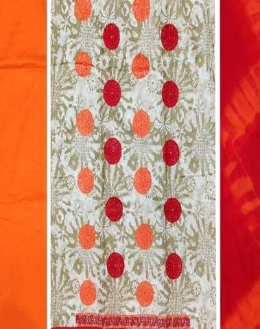 Fancy Dress Material, Unstitched-Fancy Dresses-OdiKala Fancy Store-OdiKala