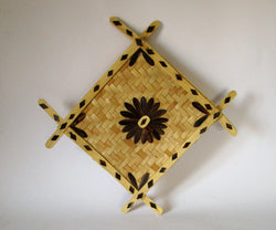 Bamboo Craft Wall Hanger-Bamboo Crafts-OdiKala Handicrafts-OdiKala
