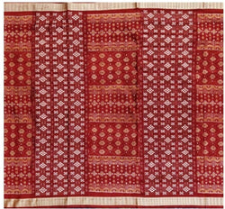 Sambalpuri Silk Saree with blouse piece