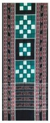 Sambalpuri Cotton Stole (Pure Handloom, Multi-Coloured)