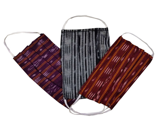 Sambalpuri Cotton Face Masks