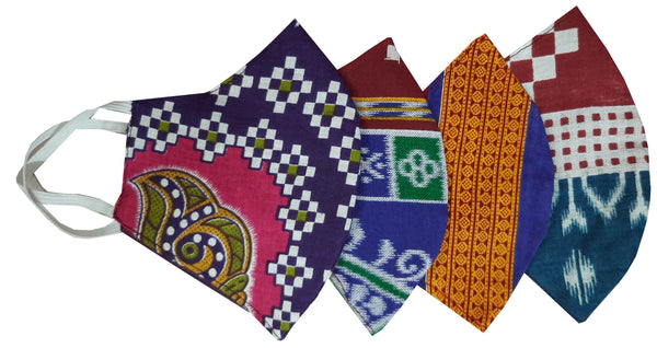 Sambalpuri  Cotton Face Mask