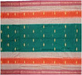 Beautiful Handloom Bomkai Cotton Saree with Blouse Piece