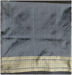 Sambalpuri Silk Blouse Piece, 1 Meter, Grey Color