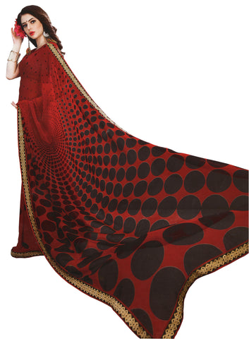 FANCY SYNTHETIC SAREE-Fancy Sarees-OdiKala Fancy Store-OdiKala
