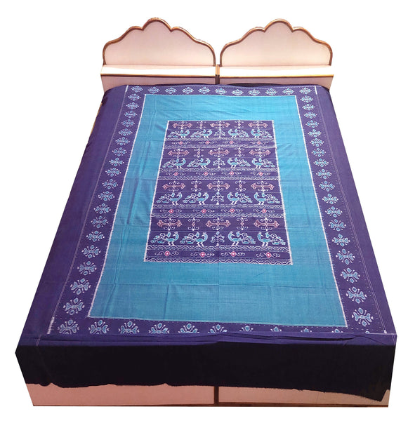 Exclusive Sambalpuri Cotton Double Bedsheet