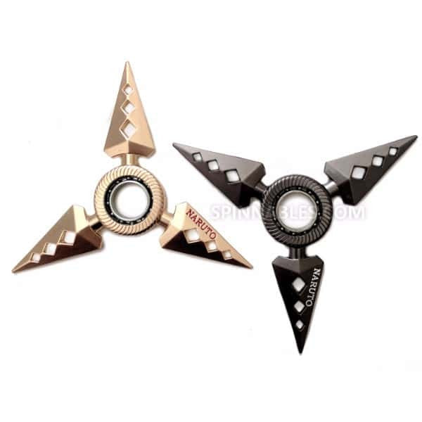 Black/Gold Diamond Spinnable Bundle Fidget Spinner Toy