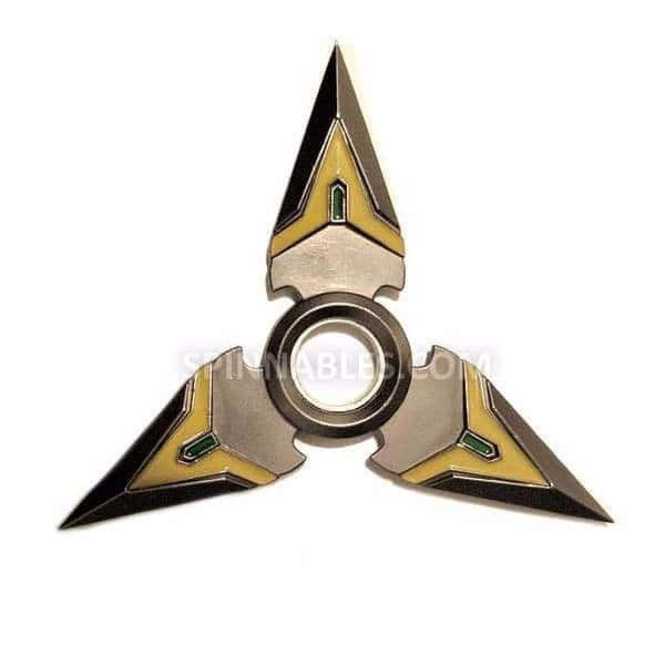 Black Spinnable Shuriken