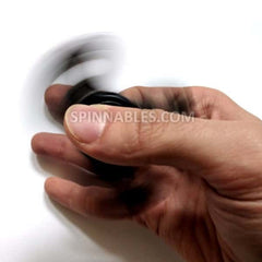 Black Fidget Spinner - Ceramic Bearings
