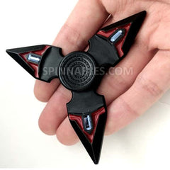 Crimson Spinnable Shuriken