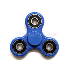 Blue Fidget Spinner - Steel Bearings