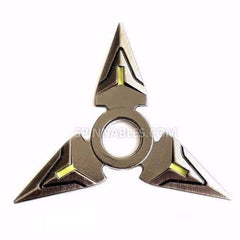 Dark Spinnable Shuriken Fidget Spinner Toy