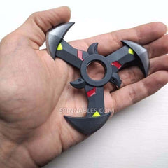 Demon Spinnable Shuriken - Black Fidget Spinner Toy