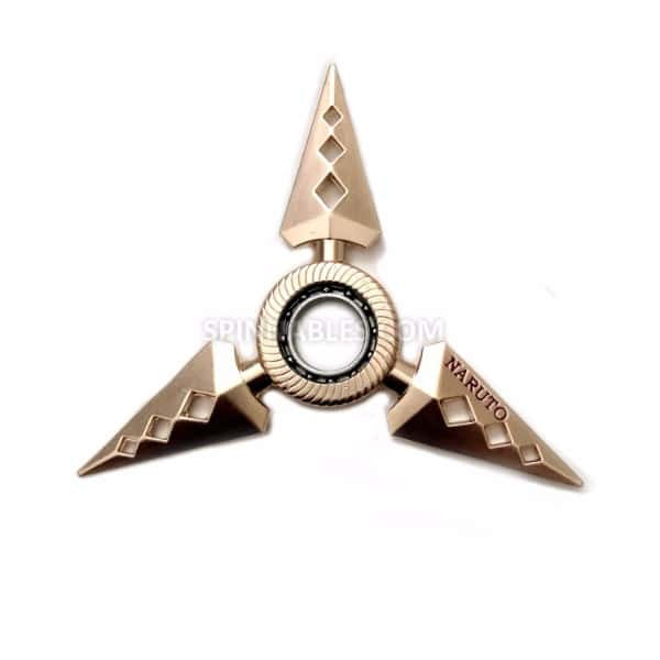 Gold Diamond Spinnable Shuriken