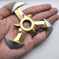 Demon Spinnable Shuriken - Gold