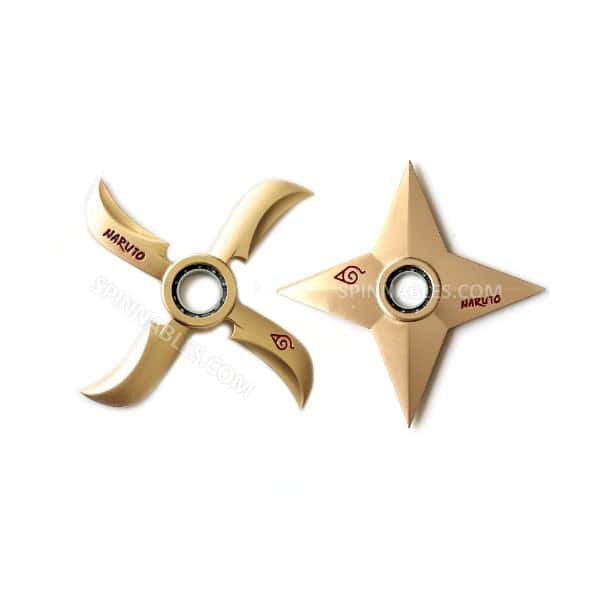 Gold Ninja Star Bundle Fidget Spinner Toy