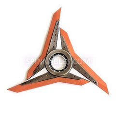 Orange Spinnable Shuriken