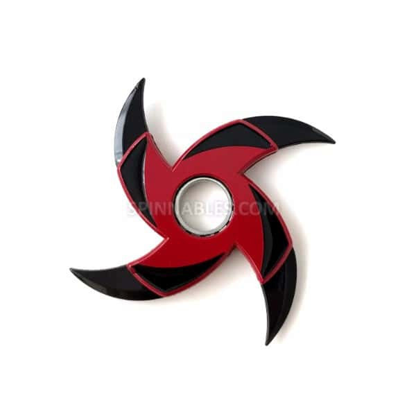 Red Stinger Transforming Spinnable Fidget Spinner Toy