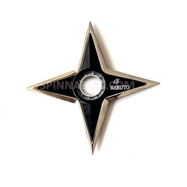 Shiny Ninja Throwing Star Spinnable