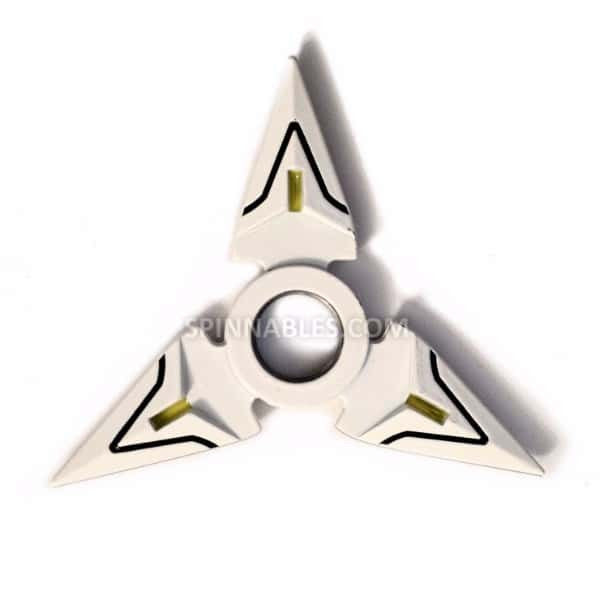 White Spinnable Shuriken