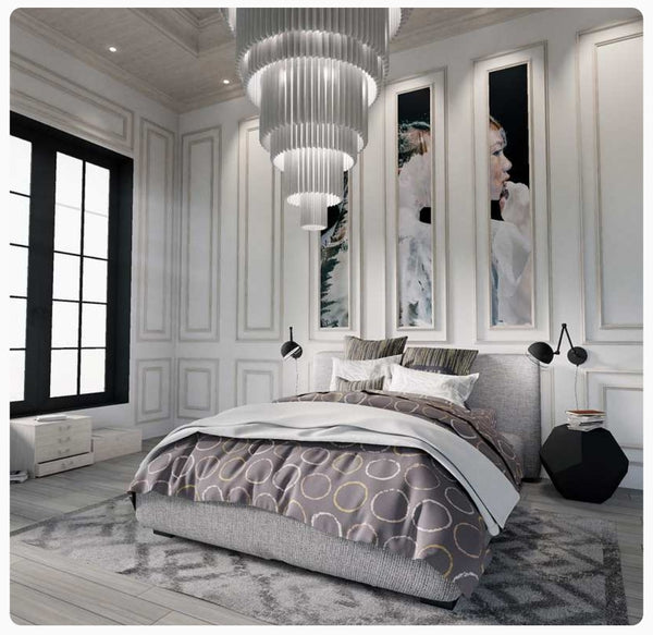 Art Deco Bedroom Style