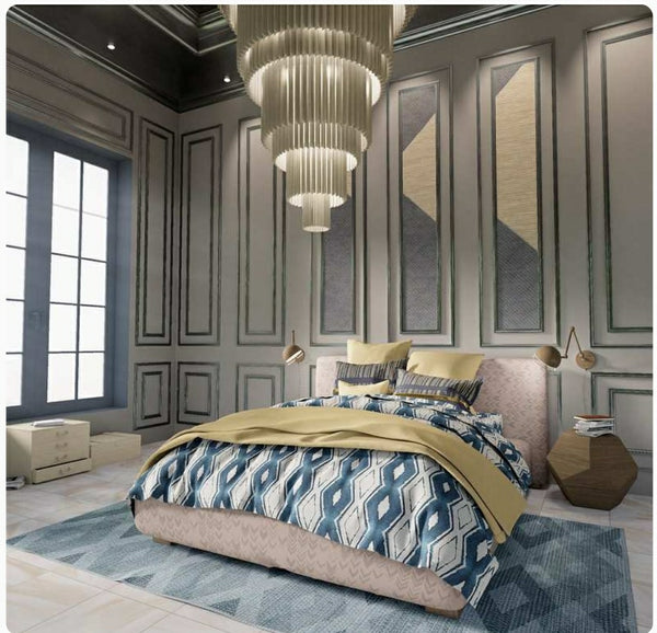 art deco style bedroom amouve