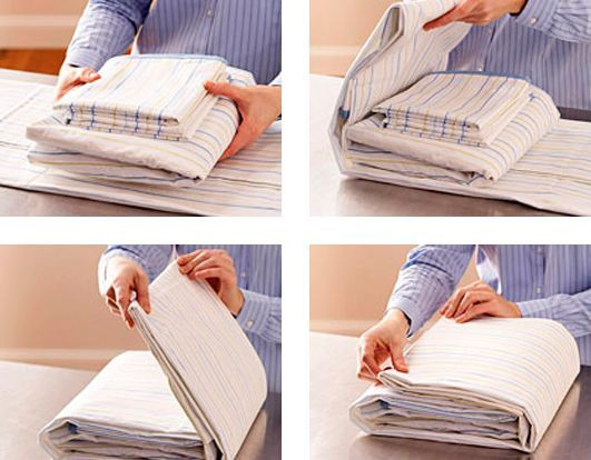 How to fold your bed sheets