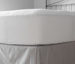 Fitted Bed Sheet White