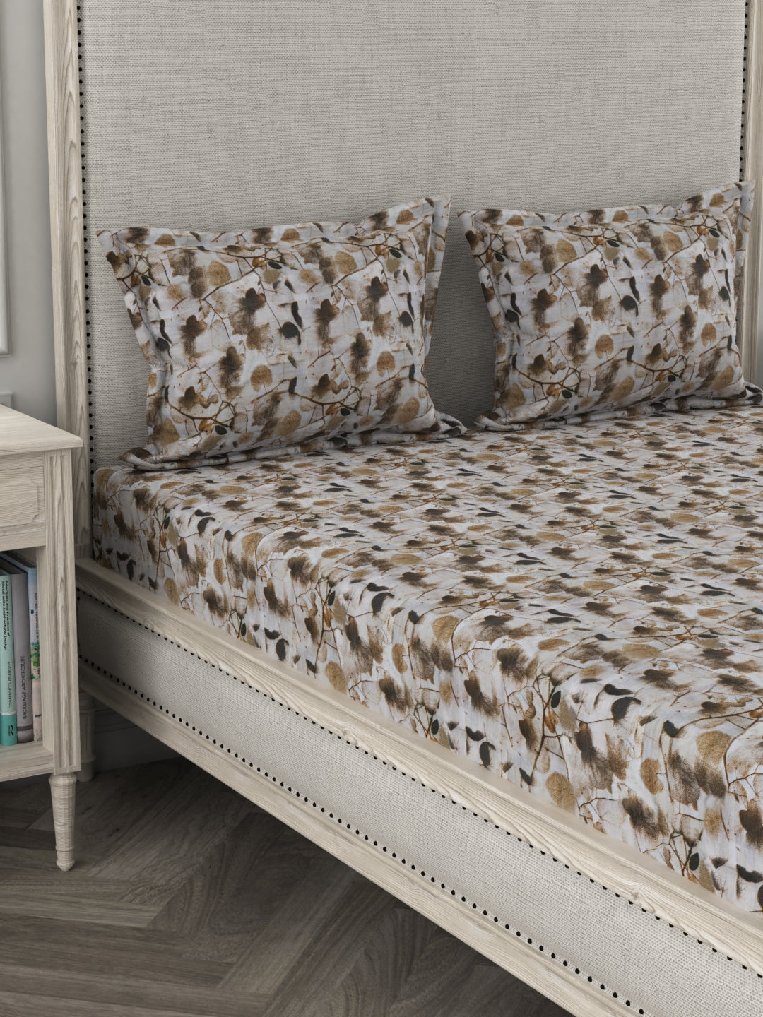 Amouve percale cotton bed sheet online