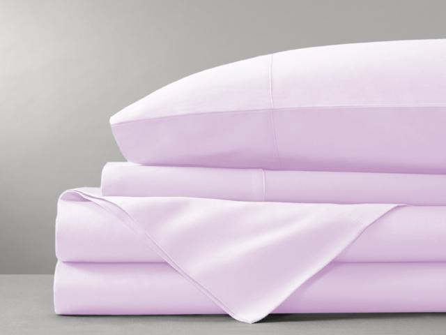 Organic Cotton Bed Sheet Set (Lavender)