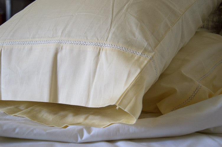 Organic Sheet Set (Ivory) - USA/UK Size