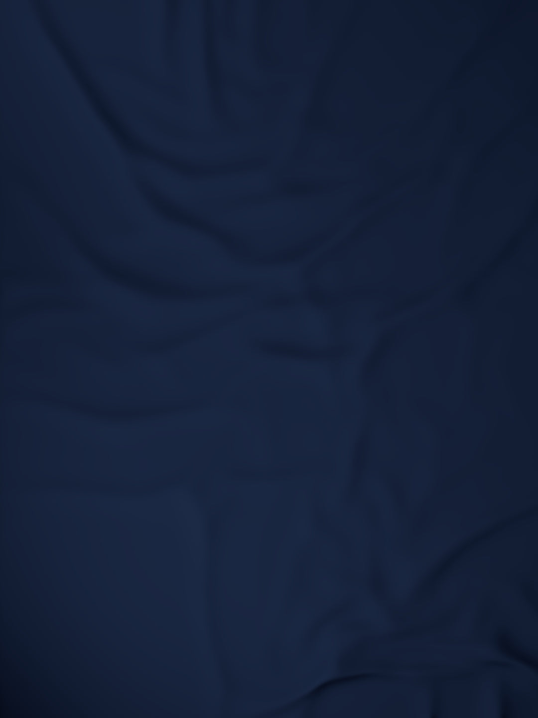 Organic Cotton Bed Sheet (Navy)