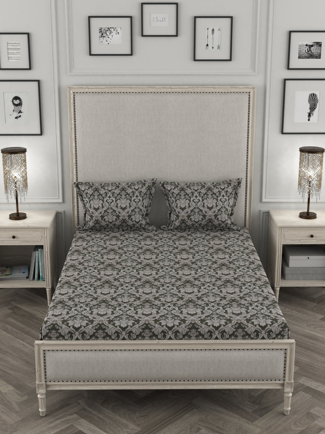 Su Casa King Bed Sheet - Terra