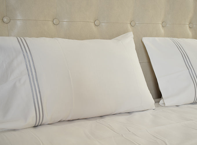 ... Organic Cotton Bed Sheet Set (White) ...