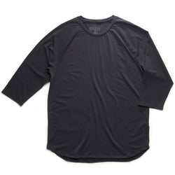 ROCKIES 3/4 RAGLAN T - BLACK