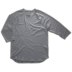 ROCKIES 3/4 RAGLAN T - HEATHER GREY