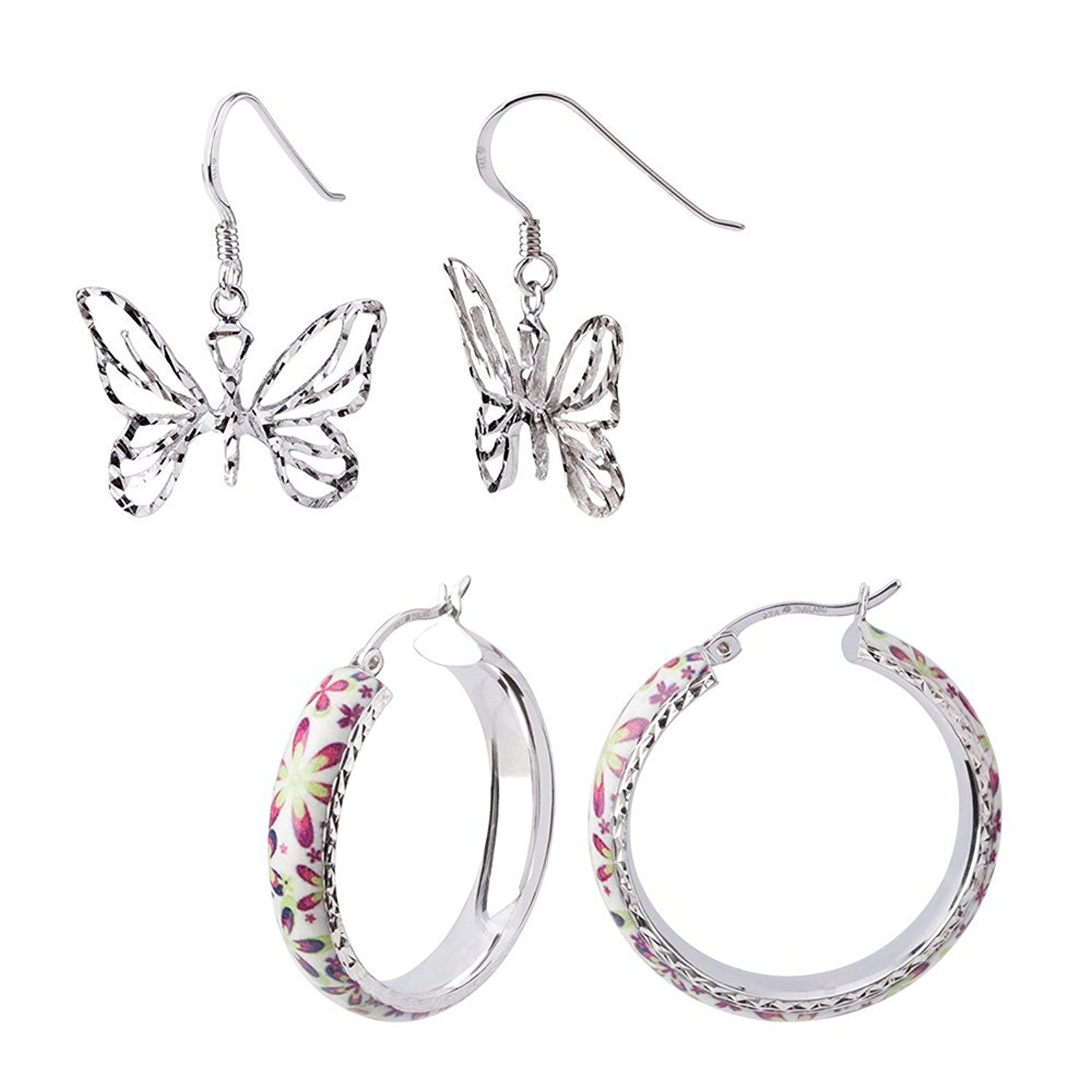 Spring Earrings Set