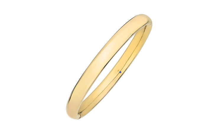 Curved Bangle - Gold & Honey