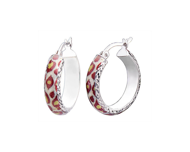 Small Animal Print Earrings