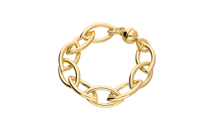 Link Bracelet Gold & Honey