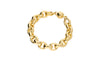 Medium Link Bracelet - Gold & Honey